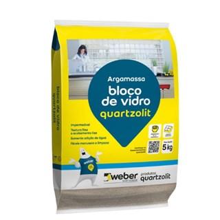 ARGAMASSA P/ASSENT.BLOCO VIDRO 5KG