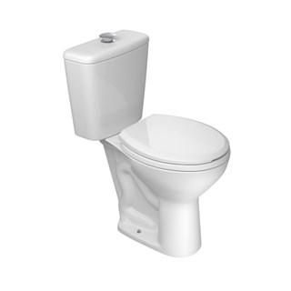 Bacia para Caixa Acoplada Izy Conforto Branco - P.115.17 - Deca