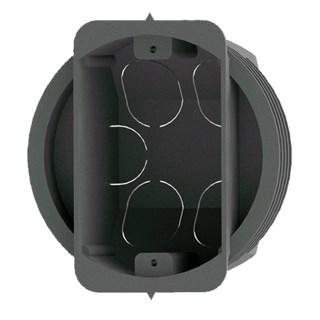 CAIXA DE LUZ CIRCULAR 4X2 AUTO-TRAVANTE LOCKBOX - NANOPLASTIC