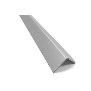 Cantoneira p/ piso/azulejo alumínio ''L'' 1'' cinza 3 metros - ALUMARK
