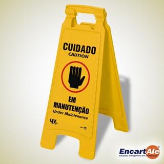 CAVALETE PLASTICO MANUTENCAO 270X650 CD03 - ENCARTALE