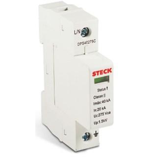 Dispositivo de Proteção Contra Surto DPS C/CARTUCHO 65KA 275V - STECK
