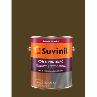 Esmalte Sintético Suvinil Cor & Proteção Brilhante 3,6l - Tabaco