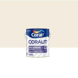 Fundo Galvanizado Coralit Fosco Branco 3,6L - Coral