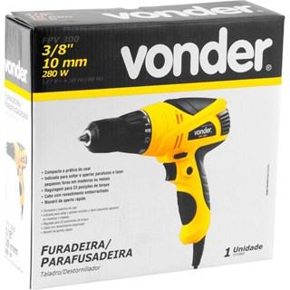 FURADEIRA PARAFUSADEIRA 3/8 110V FPV300 VONDER
