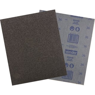 Lixa ferro LFV 0046 grão 120 - VONDER