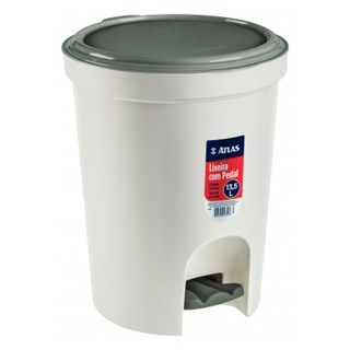 LIXEIRA RED C/PEDAL PLAST 13,5L