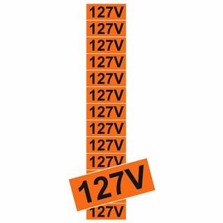 PLACA 127V CARTELA C13 UN DESTACÁVEL PS134 - ENCARTALE