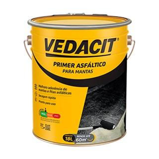 PRIMER ASFÁLTICO PARA MANTA BALDE 18LTS - VEDACIT