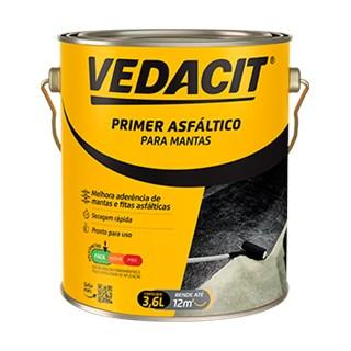 PRIMER ASFÁLTICO PARA MANTA GALÃO 3,6L - VEDACIT