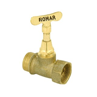 Registro de Pressao Romar Bruto 3/4'' 1400010 Amarelo