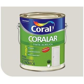 Tinta Acrílica Coralar Branco Gelo 3,6 Litros - CORAL