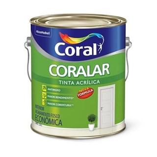 Tinta Acrílica Coralar Branco Neve 3,6 Litros - CORAL