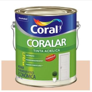 Tinta Coral Coralar Econômica acrílica fosca areia 3,6L
