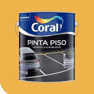 TINTA PINTA PISO FOSCO AMARELO DEMARCACAO 3,6L CORAL