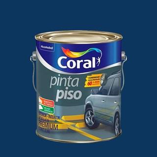 TINTA PINTA PISO FOSCO AZUL 3,6L CORAL