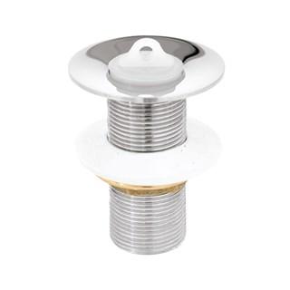 Valvula de Escoamento Romar Lavatorio s/ Ladrao c/ Arruela Metal 1'' 1603101 Cromado